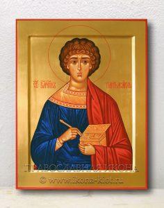 Икона «Пантелеймон целитель, великомученик» (образец №9)