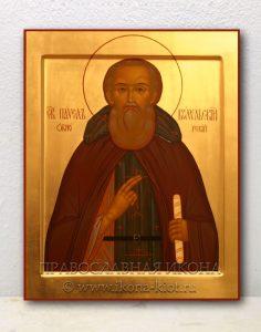 Икона «Павел Обнорский (Комельский)» (образец №1)