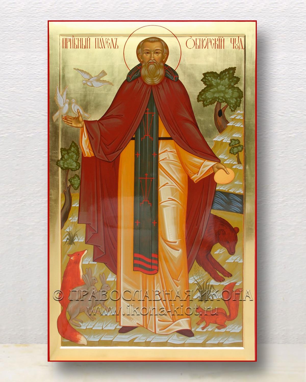 Икона «Павел Обнорский (Комельский)» (образец №2)