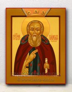 Икона «Павел Обнорский (Комельский)» (образец №3)