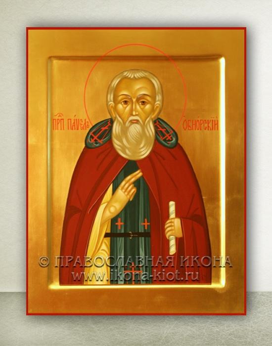 Икона «Павел Обнорский (Комельский)» (образец №4)