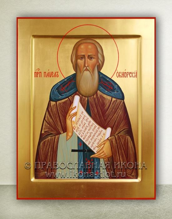 Икона «Павел Обнорский (Комельский)» (образец №5)