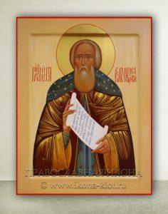 Икона «Павел Обнорский (Комельский)» (образец №7)