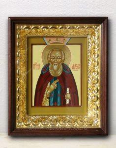 Икона «Павел Обнорский (Комельский)» (образец №8)