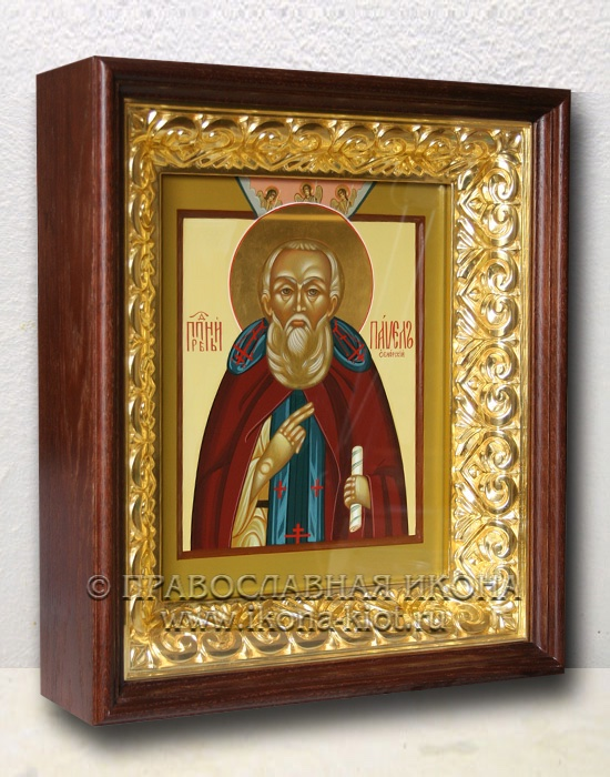 Икона «Павел Обнорский (Комельский)» (образец №9)