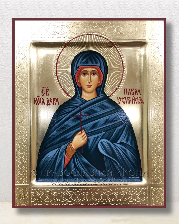 Икона «Павла Кесарийская (Палестинская), дева»