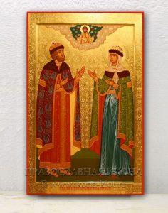 Икона «Петр и Феврония» (образец №10)