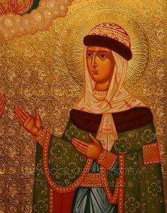 Икона «Петр и Феврония» (образец №11)