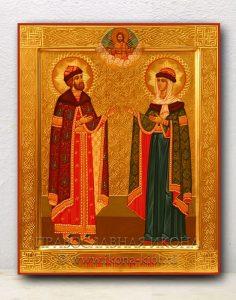 Икона «Петр и Феврония» (образец №13)
