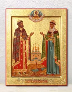 Икона «Петр и Феврония» (образец №15)