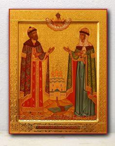 Икона «Петр и Феврония» (образец №16)