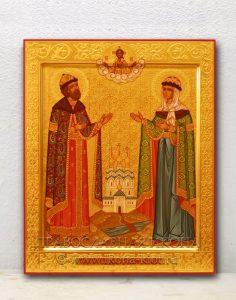 Икона «Петр и Феврония» (образец №19)