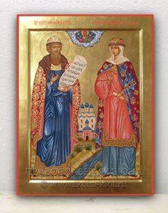 Икона «Петр и Феврония» (образец №2)