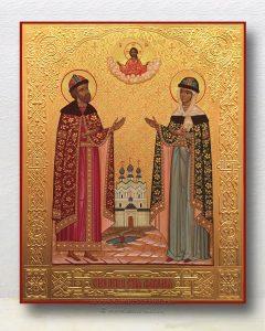Икона «Петр и Феврония» (образец №20)