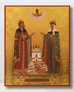 Икона «Петр и Феврония» (образец №21)