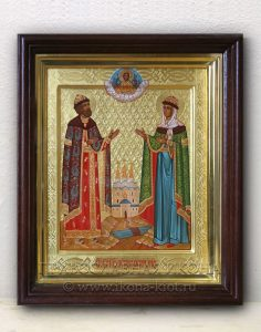 Икона «Петр и Феврония» (образец №22)