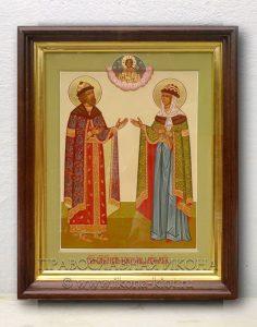 Икона «Петр и Феврония» (образец №24)
