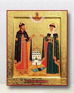 Икона «Петр и Феврония» (образец №26)