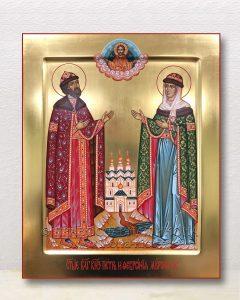 Икона «Петр и Феврония» (образец №27)
