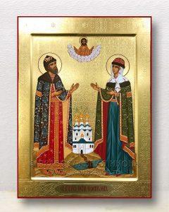 Икона «Петр и Феврония» (образец №29)