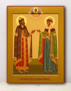 Икона «Петр и Феврония» (образец №3)