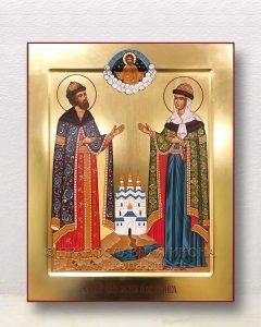 Икона «Петр и Феврония» (образец №30)