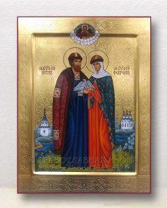 Икона «Петр и Феврония» (образец №31)