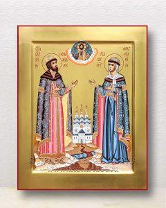 Икона «Петр и Феврония» (образец №32)