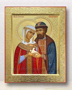 Икона «Петр и Феврония» (образец №33)