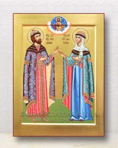 Икона «Петр и Феврония» (образец №35)