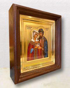 Икона «Петр и Феврония» (образец №36)
