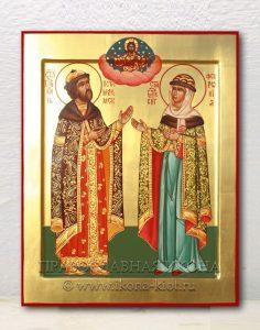 Икона «Петр и Феврония» (образец №5)