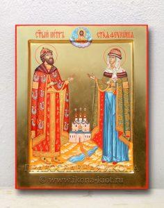 Икона «Петр и Феврония» (образец №6)