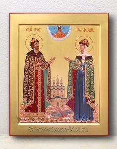 Икона «Петр и Феврония» (образец №7)