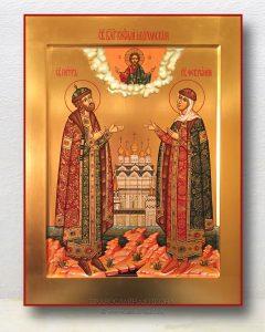 Икона «Петр и Феврония» (образец №9)