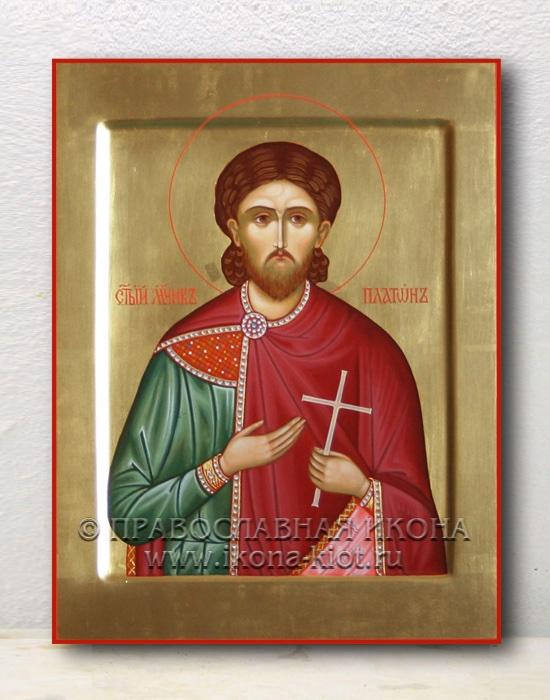 Икона «Платон, мученик» (образец №1)
