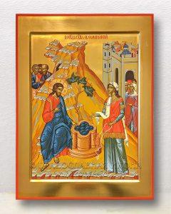 Икона «Беседа Христа с Самарянкой»