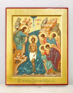 Икона «Крещение Господне (Святое Богоявление)» (образец №1)