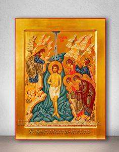 Икона «Крещение Господне (Святое Богоявление)» (образец №2)