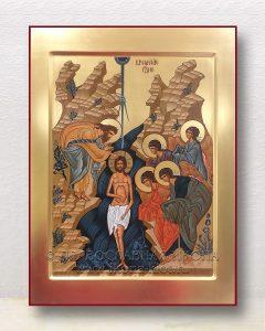 Икона «Крещение Господне (Святое Богоявление)» (образец №4)