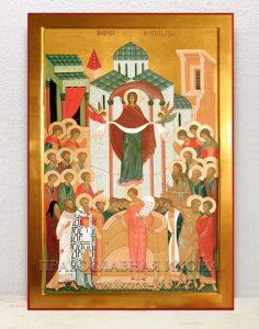 Икона «Покров Пресвятой Богородицы» (образец №2)