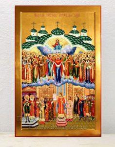 Икона «Покров Пресвятой Богородицы» (образец №3)