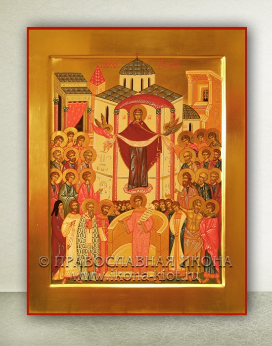 Икона «Покров Пресвятой Богородицы» (образец №1)