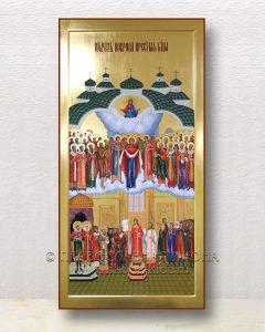 Икона «Покров Пресвятой Богородицы» (образец №4)