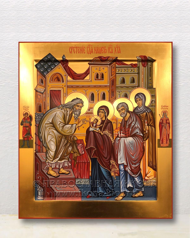 Икона «Сретение Господне» (образец №2)