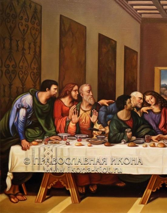 Икона «Тайная вечеря» (образец №6)