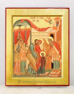 Икона «Введение во храм Пресвятой Богородицы» (образец №1)