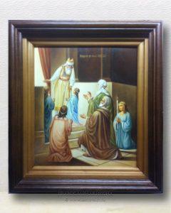 Икона «Введение во храм Пресвятой Богородицы» (образец №3)