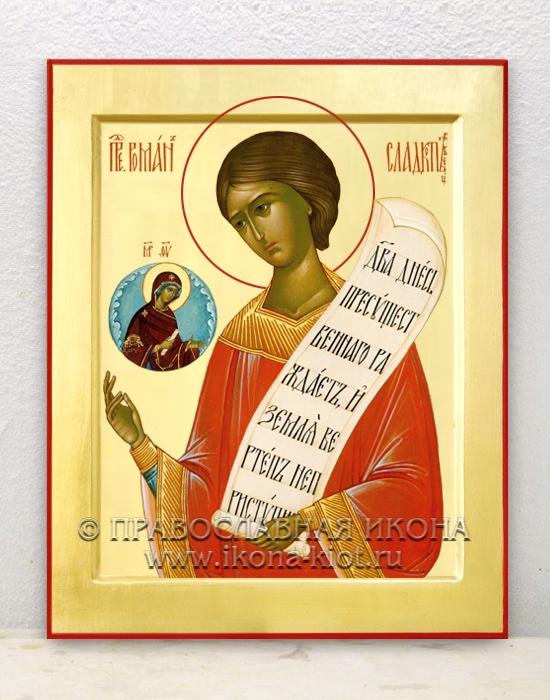 Икона «Роман Сладкопевец, преподобный» (образец №1)