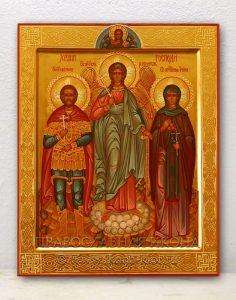Семейная икона (3 фигуры) (образец №1)